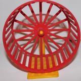 Колесо для хомячка на подставке, диаметр 15 см