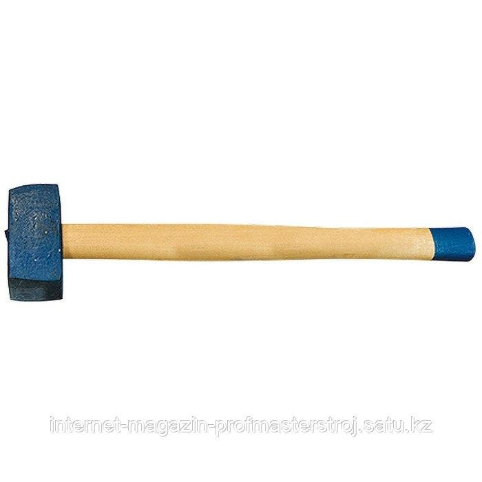 Кувалда, 3000 г, кованая головка, деревянная рукоятка (Труд), РОССИЯ