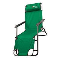 Кресло-шезлонг двухпозиционное 156x60x82 см, PALISAD Camping