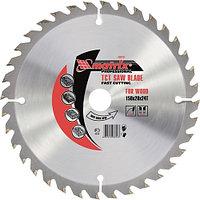 Пильный диск по дереву, 150x20 мм, 36 зубьев + кольцо 16/20, MATRIX Professional