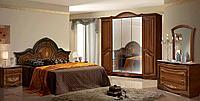 Опера набор коричневой мебели для спальни
