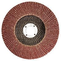 Круг лепестковый торцевой КЛТ-1, зернистость P 40 (40H), 115x22.2 мм, (БАЗ) Россия