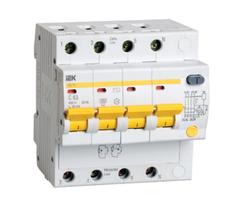 Автоматическое устройство защитного отключения УЗО АД 14 (4ф) 63А