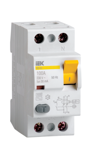 Автоматическое устройство защитного отключения УЗО ВД1 63 (2ф) 63А