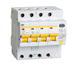Автоматическое устройство защитного отключения УЗО АД 14 (4ф) 50А