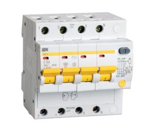 Автоматическое устройство защитного отключения УЗО АД 14 (4ф) 32А