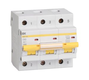 Автоматический выключатель BA 47-100 (3ф) 25А