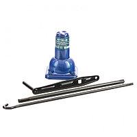 Домкрат механический бутылочный, 2 т, h подъема 160–325 мм, 2 части (домкрат, ручка). Stels