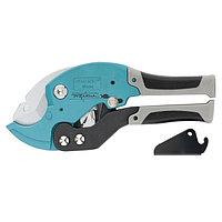 Ножницы для резки изделий из ПВХ, D - до 36 мм, 2-х комп. рукоятки, рабочий стол для плоских изделий, GROSS