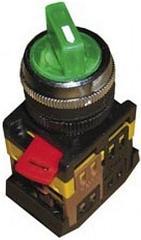 Переключатель АNC-22-2 (зеленый неон на 2полож)