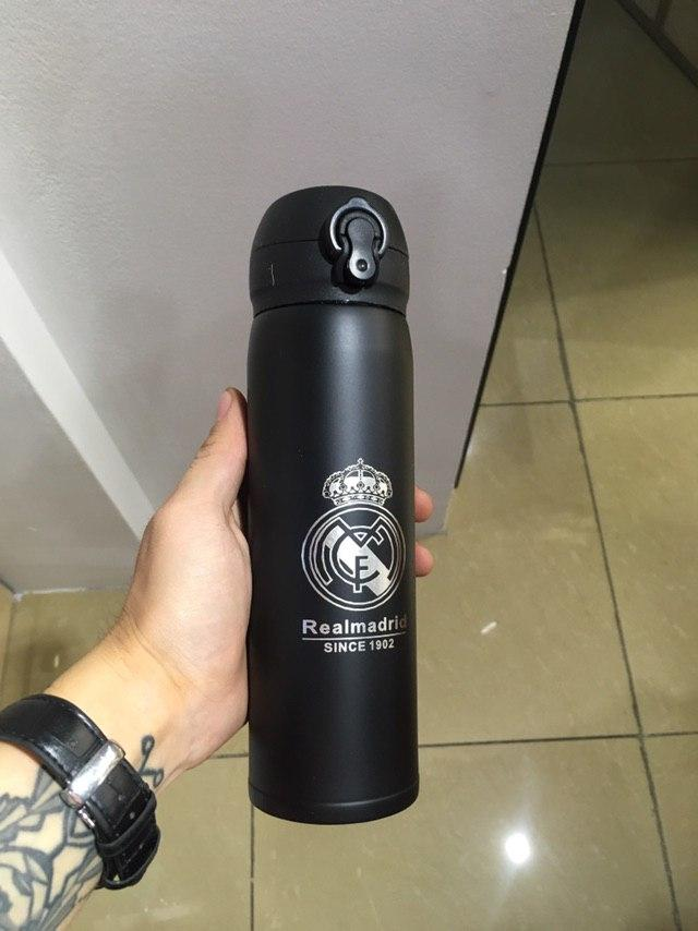 Термос футбольный Real Madrid