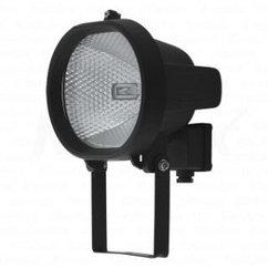 Прожектор галогенный ИО 150 ОВАЛ черный IP54