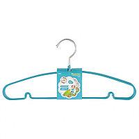 Вешалка для легкой одежды с прорезиненным противоскользящим покрытием 40 см, 5 шт., в комплекте, ELFE