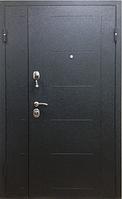 Входная металлическая 2хстворчатая дверь Лидер 1200
