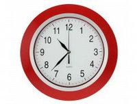 Часы настенные красные