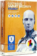 Eset NOD32 Smart Security Family 5 PC/1 Year