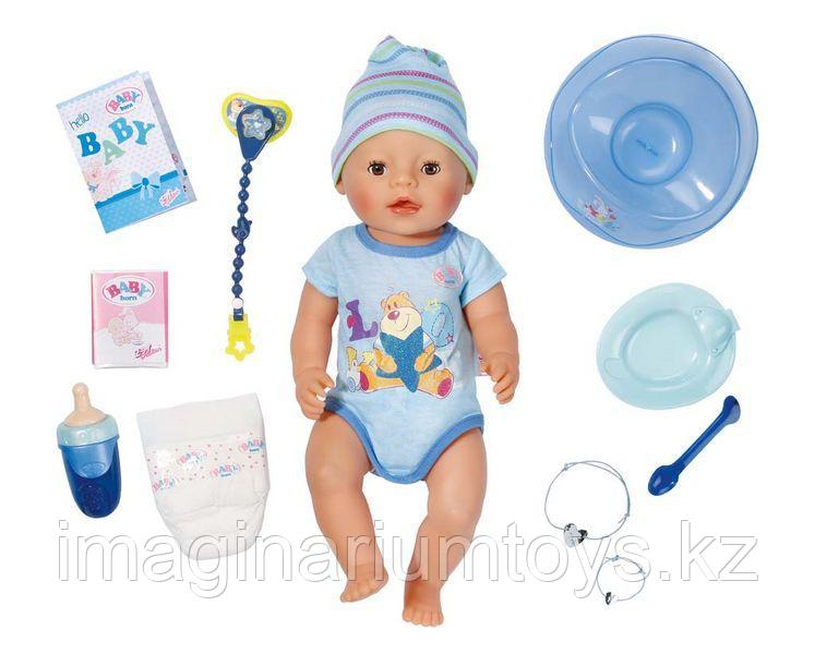 Кукла интерактивная Мальчик Baby Born 43 см