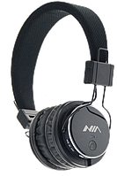 Bluetooth-наушники с плеером NIA Q8-851S /BТ v.2.1+EDR (Wireless Calls/ Mp3 / TF/FM/Aux-In, микр.)