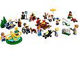60134 Lego City Праздник в парке — жители, Лего Город Сити, фото 2