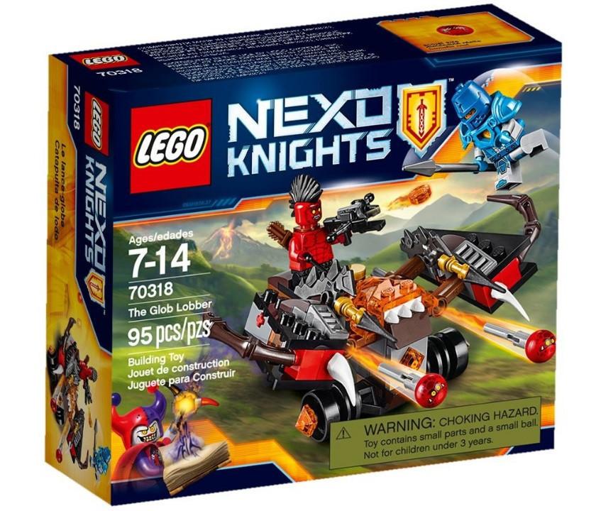 70318 Lego Nexo Knights Шаровая ракета, Лего Рыцари Нексо