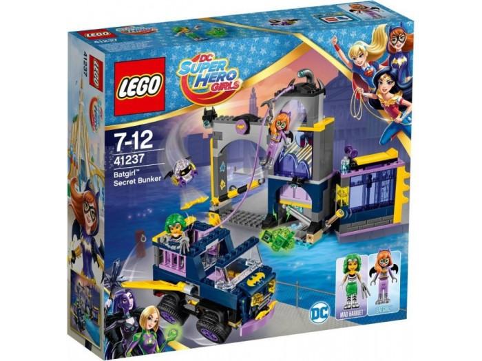 41237 Lego Супергёрлз Секретный бункер Бэтгёрл