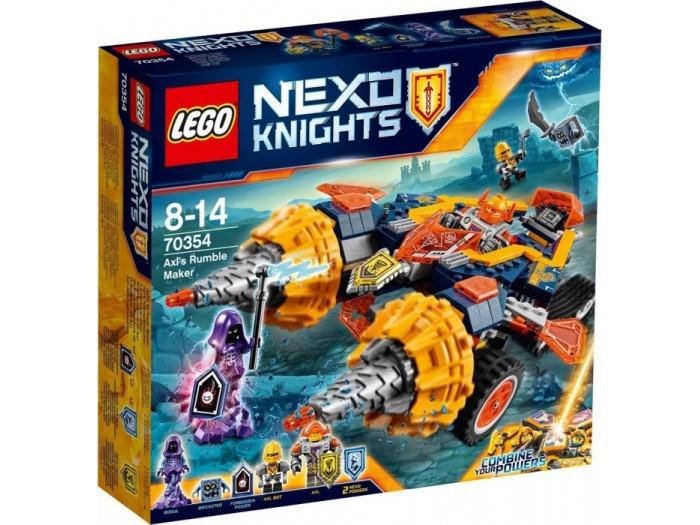 70354 Lego Nexo Knights Бур-машина Акселя, Лего Рыцари Нексо