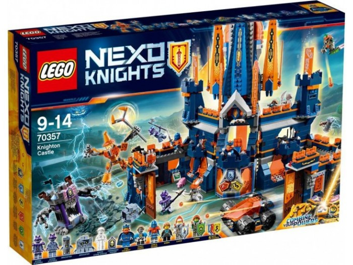 70357 Lego Nexo Knights Королевский замок Найтон, Лего Рыцари Нексо