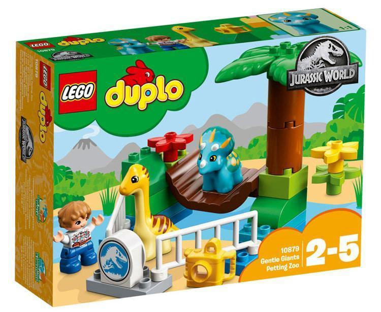 10879 Lego DUPLO Jurassic World Парк динозавров, Лего Дупло