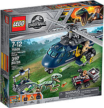 75928 Lego Jurassic World Погоня за Блю на вертолёте, Лего Мир Юрского периода