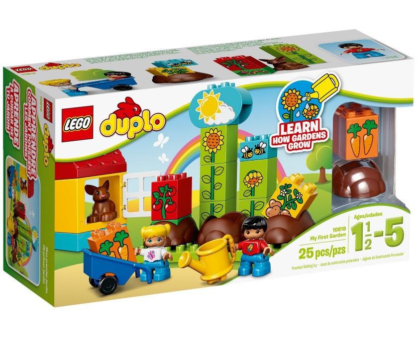 10819 Lego Duplo Мой первый сад, Лего Дупло