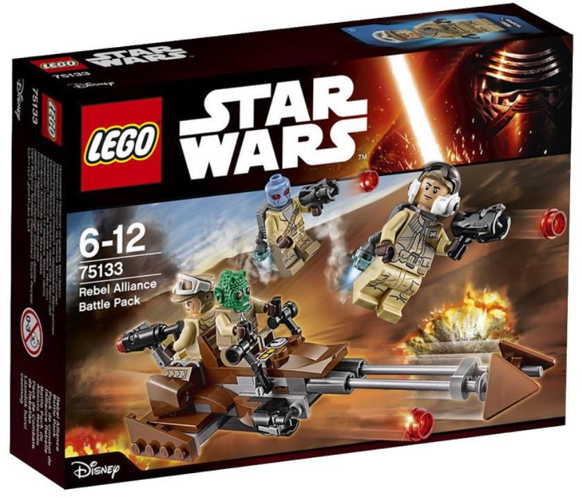 75133 Lego Star Wars Боевой набор Повстанцев™, Лего Звездные войны