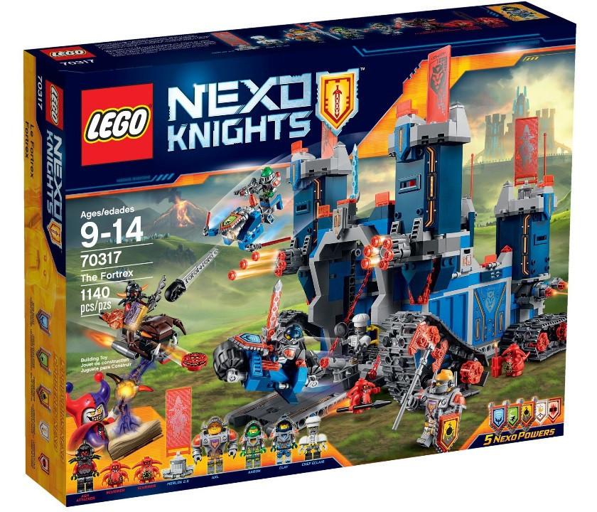 70317 Lego Nexo Knights Фортрекс - мобильная крепость, Лего Рыцари Нексо