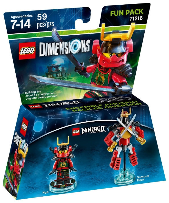 71216 Lego Dimensions Ninjago (Fun Pack)