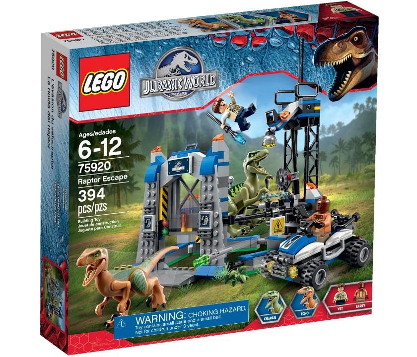 75920 Lego Jurassic World Побег Раптора