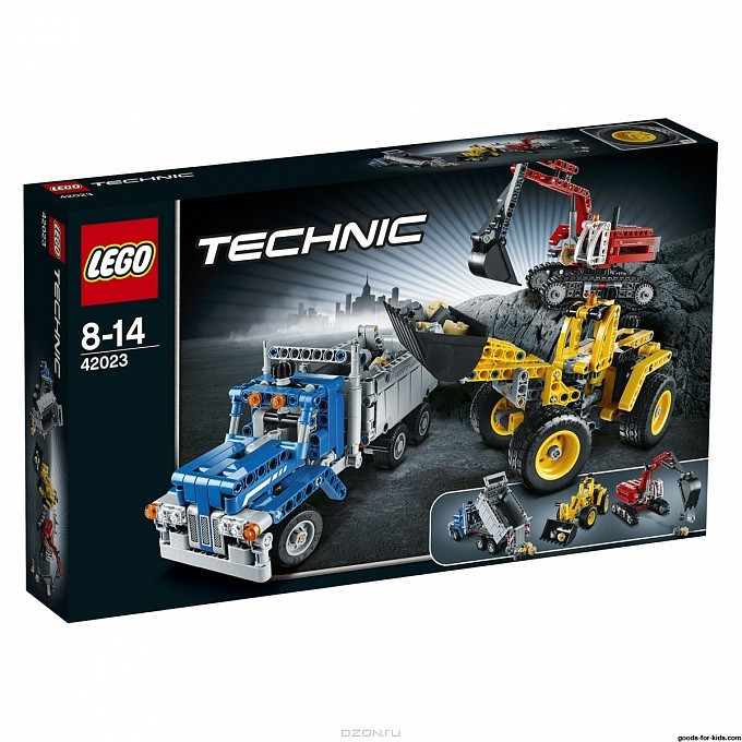 42023 Lego Technic Строительная команда, Лего Техник
