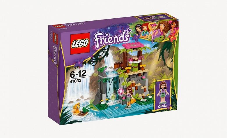 41033 Lego Friends Джунгли: Спасение тиргёнка у водопада, Лего Подружки