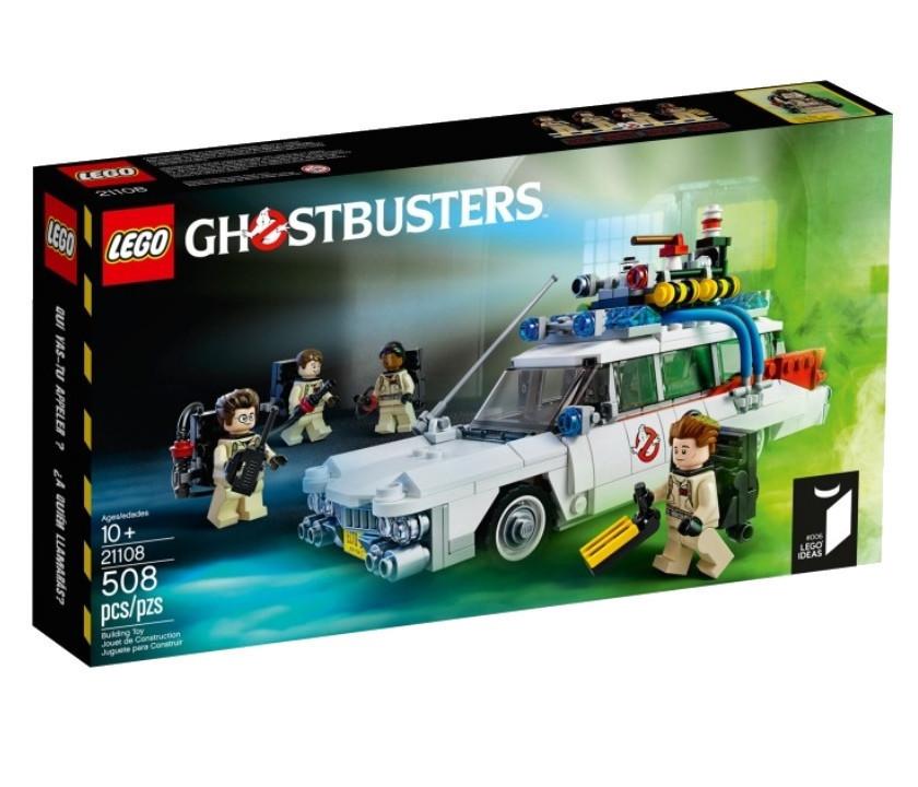 21108 Lego Ideas Охотники за привидениями