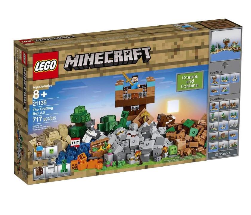 21135 Lego Minecraft Креативный набор 2.0 - 15 в 1, Лего Майнкрафт