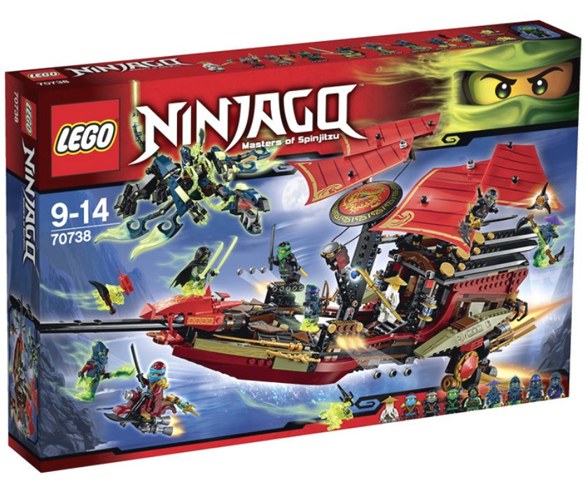 70738 Lego Ninjago Корабль «Дар судьбы». Решающая битва, Лего Ниндзяго
