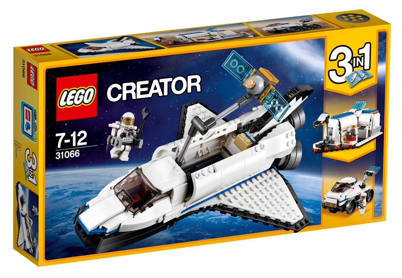 31066 Lego Creator Исследовательский космический шаттл, Лего Креатор