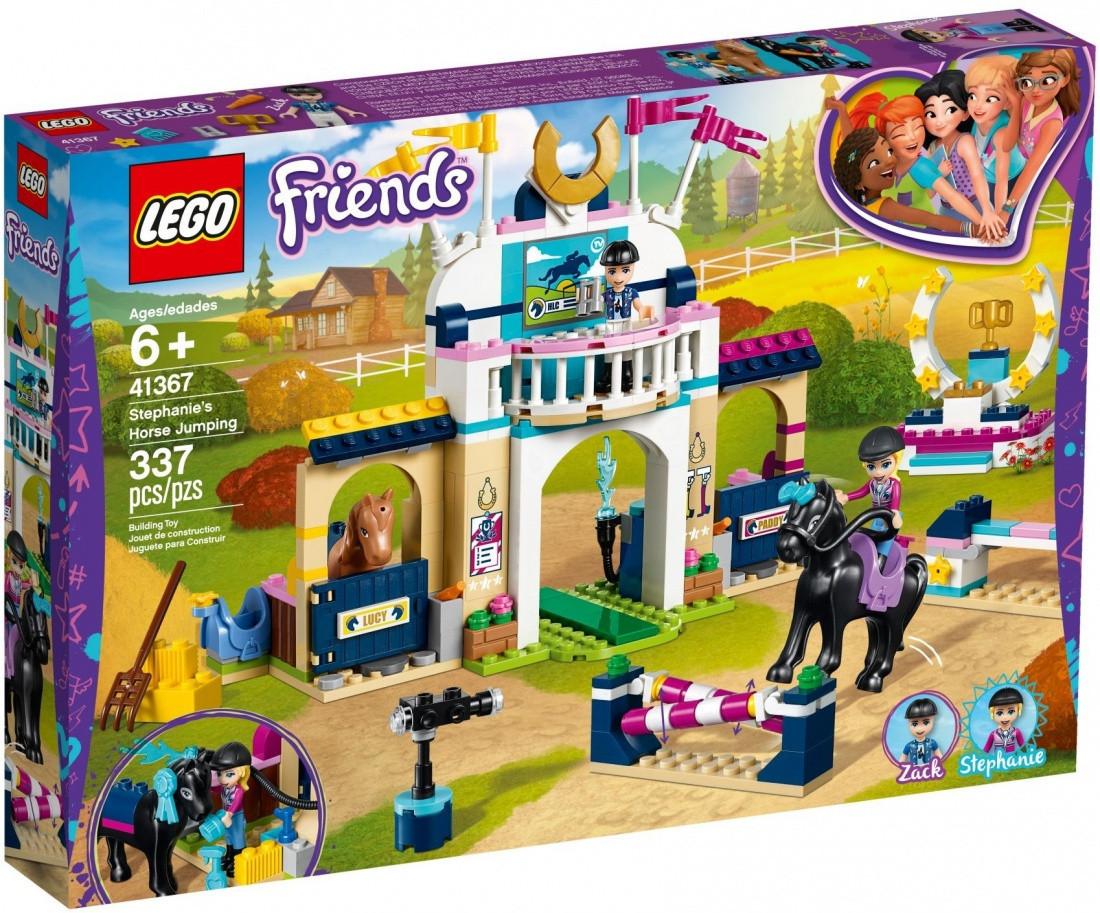 41367 Lego Friends Соревнования по конкуру, Лего Подружки