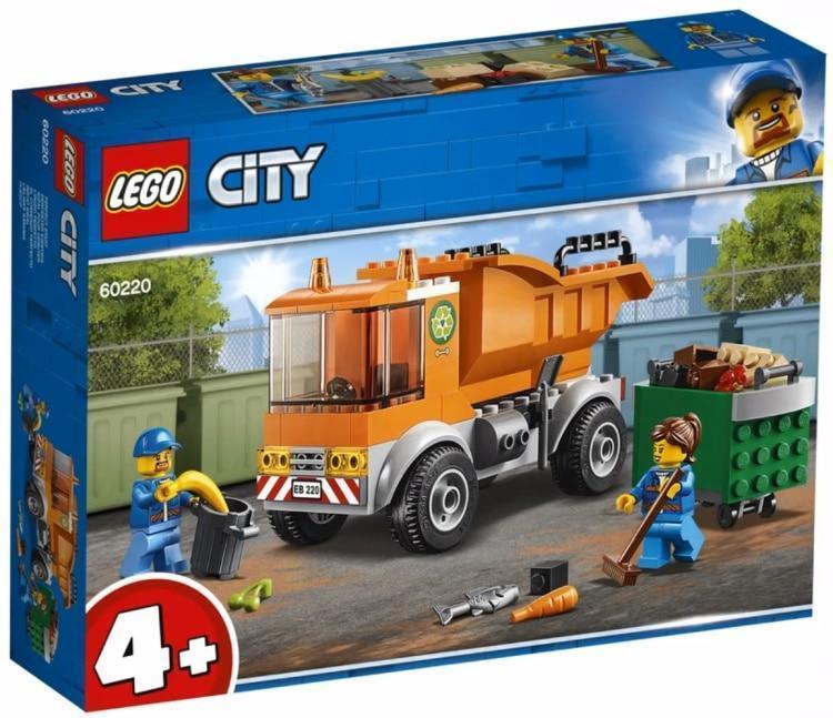 60220 Lego City Транспорт: Мусоровоз, Лего Город Сити