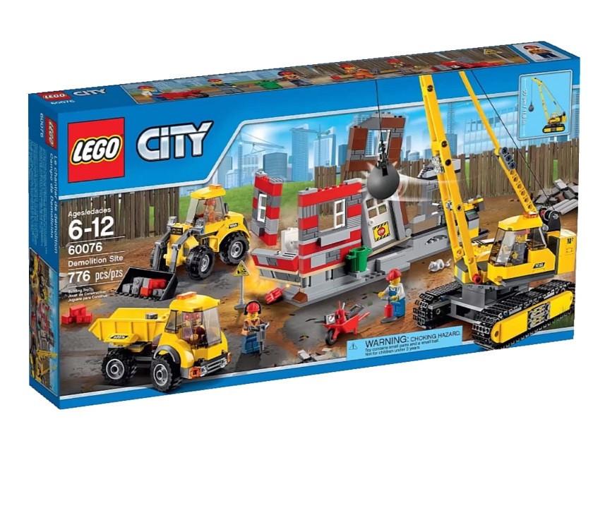 60076 Lego City Снос старого здания, Лего Город Сити