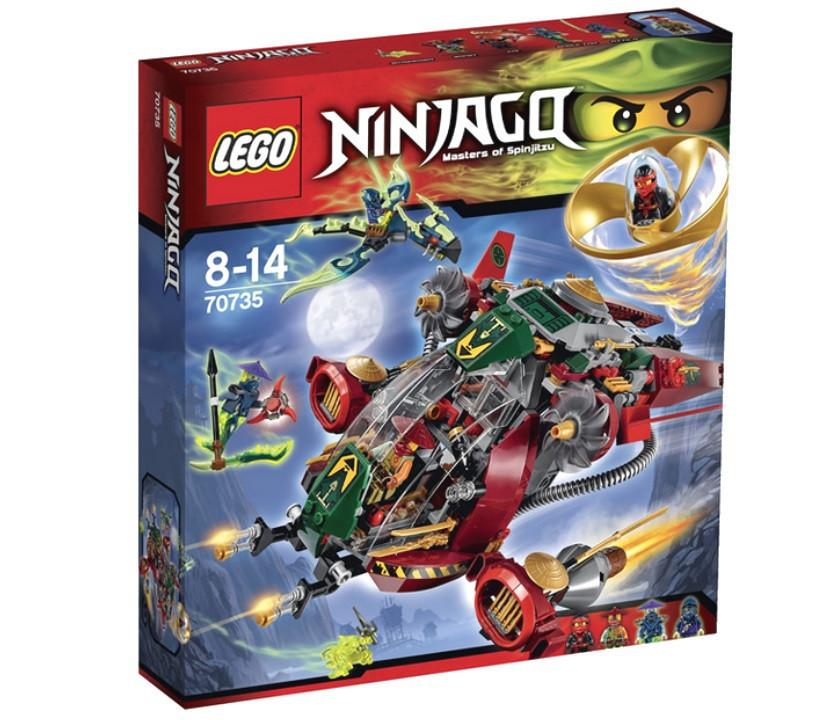 70735 Lego Ninjago Корабль R.E.X. Ронана, Лего Ниндзяго
