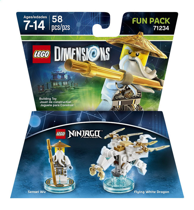 71234 Lego Dimensions Ninjago (Fun Pack)