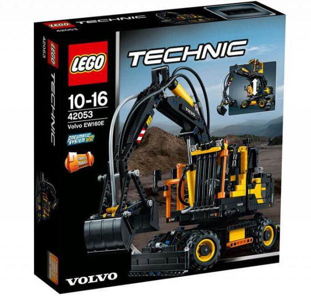 42053 Lego Technic Экскаватор Volvo EW 160E, Лего Техник