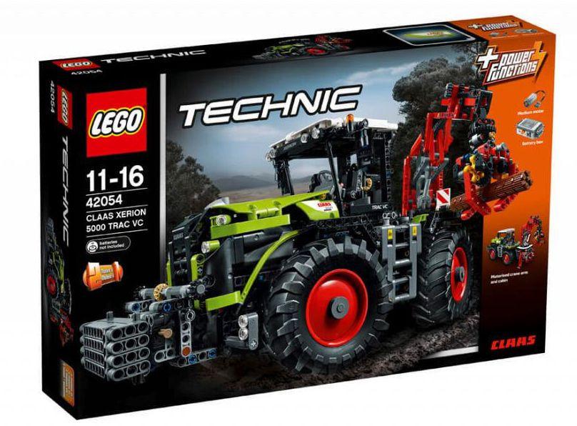 42054 Lego Technic CLAAS XERION 5000 TRAC VC, Лего Техник