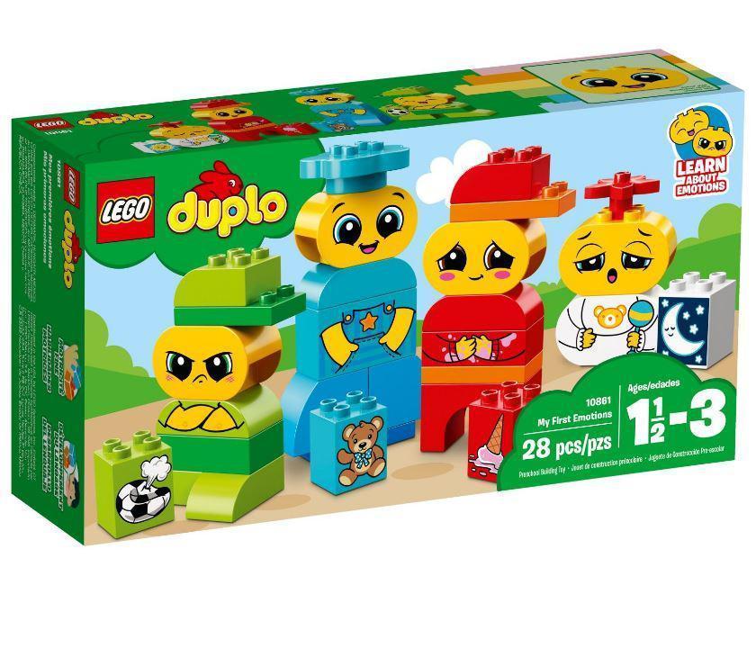 10861 Lego DUPLO My First Мои первые эмоции, Лего Дупло