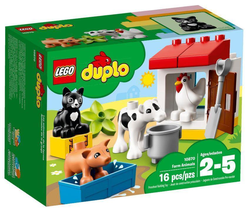 10870 Lego DUPLO Town Ферма: домашние животные, Лего Дупло