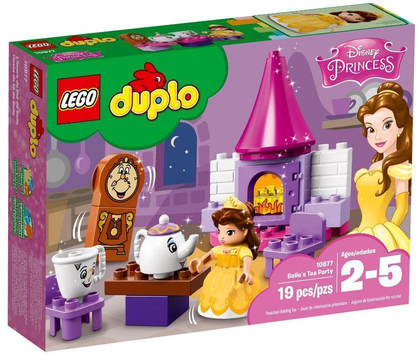10877 Lego DUPLO Princess Чаепитие у Белль, Лего Дупло